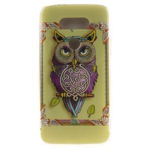 Softy gelový obal na mobil LG G5 - sova - 1