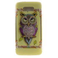 Softy gelový obal na mobil LG G5 - sova - 1/5