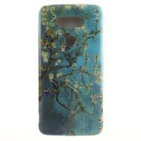 Softy gelový obal na mobil LG G5 - kvetoucí strom - 1/5