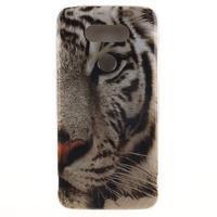 Softy gélový obal pre mobil LG G5 - biely tygr - 1/5