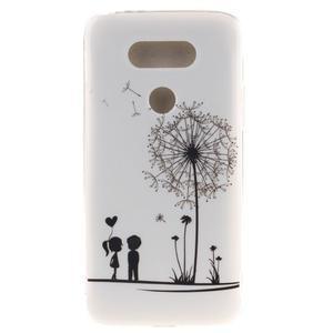Softy gélový obal pre mobil LG G5 - láska - 1
