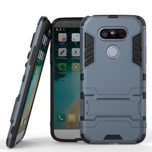 Odolný kryt pre mobil LG G5 - šedomodrý - 1