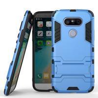 Odolný kryt pre mobil LG G5 - svetlomodrý - 1/3