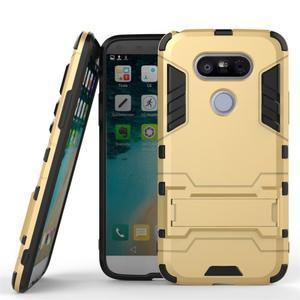 Odolný kryt na mobil LG G5 - zlatý - 1