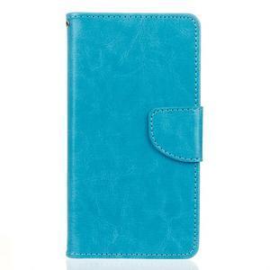 Lees peňaženkové puzdro pre LG G5 - modré - 1