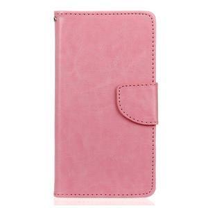 Lees peňaženkové puzdro pre LG G5 - ružové - 1