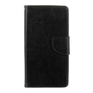 Lees peňaženkové puzdro pre LG G5 - čierne - 1