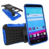 Outdoor odolný obal na mobil LG G5 - modrý - 1/2