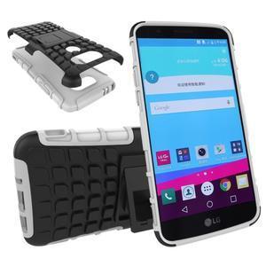 Outdoor odolný obal na mobil LG G5 - bílý - 1
