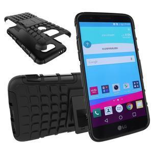 Outdoor odolný obal na mobil LG G5 - černý - 1