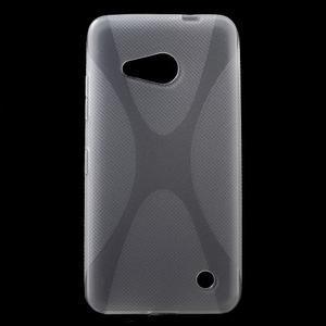 X-line gélový obal na Microsoft Lumia 550 - transparentný - 1