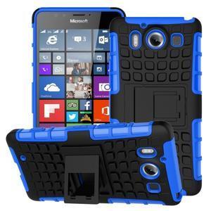 Outdoor odolný kryt na mobil Microsoft Lumia 950 - modrý - 1
