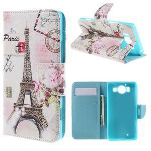 Peňaženkové puzdro pre Microsoft Lumia 950 - Eiffelka - 1