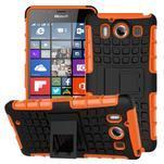 Outdoor odolný kryt pre mobil Microsoft Lumia 950 - oranžový - 1/3