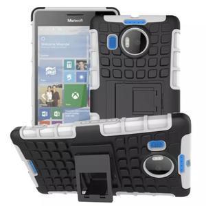 Odolný outdoor obal pre mobil Microsoft Lumia 950 XL - biely - 1