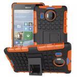 Odolný outdoor obal pre mobil Microsoft Lumia 950 XL - oranžový - 1/2