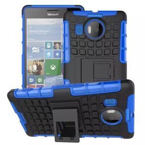 Odolný outdoor obal na mobil Microsoft Lumia 950 XL - modrý - 1