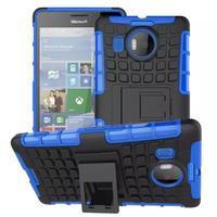 Odolný outdoor obal na mobil Microsoft Lumia 950 XL - modrý - 1/2