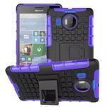 Odolný outdoor obal na mobil Microsoft Lumia 950 XL - fialový - 1/2