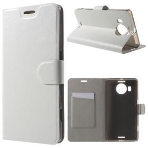 Horse Peňaženkové puzdro pre Microsoft Lumia 950 XL - biele - 1