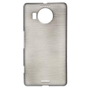 Brushed gelový obal na mobil Microsoft Lumia 950 XL - černý - 1