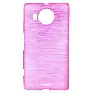 Brushed gélový obal pre mobil Microsoft Lumia 950 XL - rose - 1