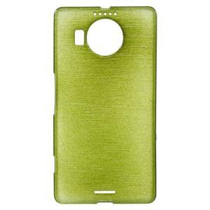 Brushed gélový obal pre mobil Microsoft Lumia 950 XL - zelený - 1