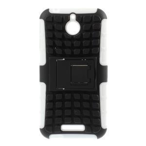 Outdoor odolný kryt pre mobil HTC Desire 510 - biely - 1
