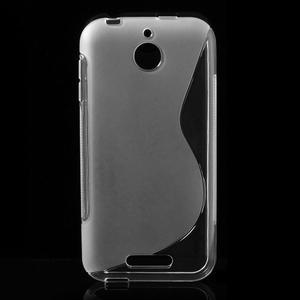 S-line gélový obal pre mobil HTC Desire 510 - transparentný - 1