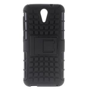 Outdoor odolný obal na mobil HTC Desire 620 - černý - 1