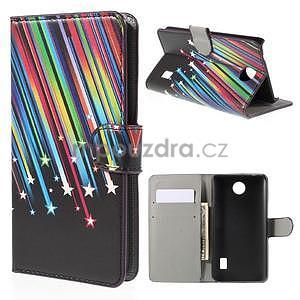 Zapínacie peňaženkové puzdro Huawei Y635 - meteor - 1