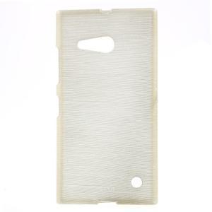 Gélový obal Brush na Nokia Lumia 730/735 - champagne - 1