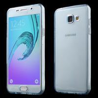 Gélový obal 2v1 pro zadní kryt a displej pre Samsung Galaxy A5 (2016) - modrý - 1/7