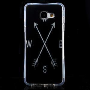 Tvarovaný gelový obal na Samsung Galaxy A5 (2016) - světové strany - 1