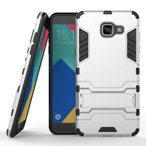 Odolný kryt pre mobil Samsung Galaxy A5 (2016) - strieborny - 1