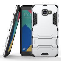 Odolný kryt pre mobil Samsung Galaxy A5 (2016) - strieborny - 1/4