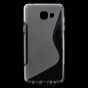 S-line gélový obal pre mobil Samsung Galaxy A5 (2016) - transparentný - 1