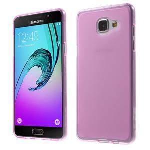 Matný gélový kryt pro Samsung Galaxy A5 (2016) - rose - 1