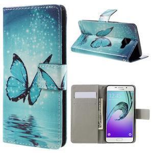 Stylové pouzdro na mobil Samsung Galaxy A5 (2016) - kouzelný motýl - 1