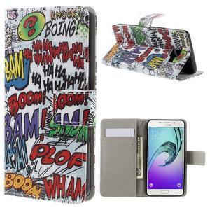 Štýlové puzdro pre mobil Samsung Galaxy A5 (2016) - boom - 1