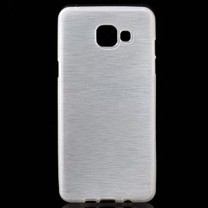Brush gelový obal na Samsung Galaxy A5 (2016) - bílý - 1