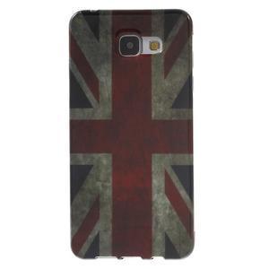 Obal s motivem na mobil Samsung Galaxy A5 (2016) - UK vlajka - 1