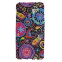 Obal s motívom pre mobil Samsung Galaxy A5 (2016) - farebné kruhy - 1/7