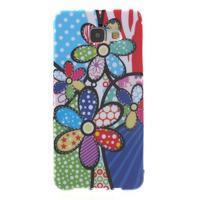 Obal s motívom pre mobil Samsung Galaxy A5 (2016) - malované kvety - 1/7