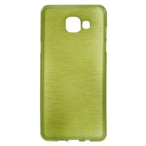 Brush gelový obal na Samsung Galaxy A5 (2016) - zelený - 1