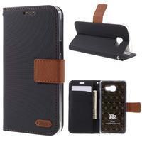 Roarlux peňaženkové puzdro pre Samsung Galaxy A5 (2016) - čierne - 1/7