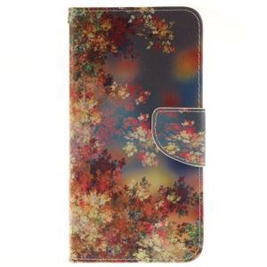 Puzdro na mobil Samsung Galaxy A5 (2016) - podzimní lístečky - 1