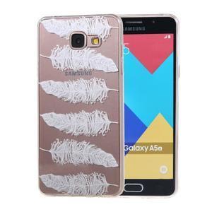 Silk Gelový obal na mobil Samsung Galaxy A5 (2016) - peříčka - 1