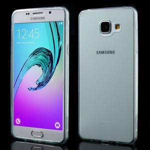 Ultratenký slim gelový obal na Samsung Galaxy A5 (2016) - světlemodrý - 1