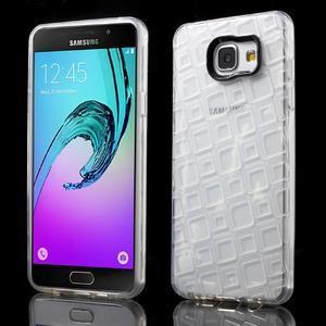 Square gélový obal pre mobil Samsung Galaxy A5 (2016) - transparentný - 1